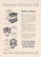1928 PACKARD AVIATION ENGINES...