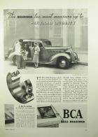1936 PACKARD-BCA BALL BEARING...