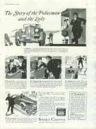1937 PACKARD-SANKA COFFEE ADVERT-B&W