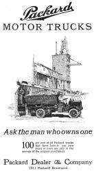Packard Truck Advert 1