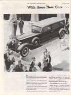 1934 Twelve - Advertisement Saturday Evening Post September 9, 1933