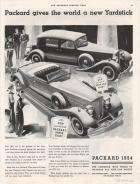 1934 Super Eight - Advertisement Saturday Evening Post 9-9-1933 Pages 34&35