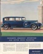 1934 Twelve Model 1108 - 7 Pass Sedan Style 734 Advertisement Fortune Magazine 6-1934 Page 56