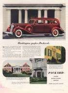 1936 Twelve Super 8 and Eight Washington Prefers Packards Advertisement -  Fortune Magazine 3/36