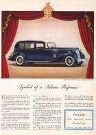 1936 Twelve Town Car with Body by LeBaron - Vogue Magazine 1/36