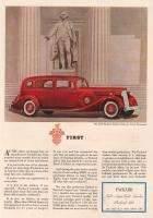 1936 Twelve Sedan for 7 Passengers Advertisement