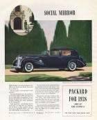 1938 Twelve Sedan-Limousine Advertisement