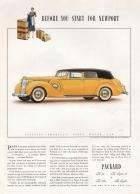 1938 Twelve Convertible Sedan for Five Passengers