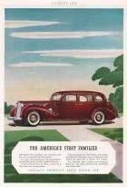 1938 Sedan - Country Life magazine advertisement