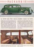 1938 Twelve 7 seat Sedan - Spanish advertisement
