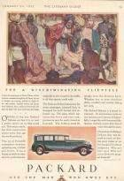 1931 DeLuxe Sedan-Limousine for Seven Passengers - Advertisement
