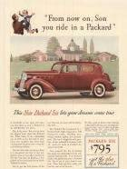 1937 Six Club Sedan - Advertisement
