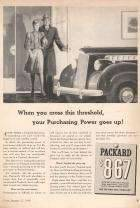 1940 Packard 110 Advertisement - Time Magazine 01/40