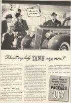 1940 Packard Advertisement - Newsweek 12/39
