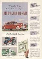 1940 Packard Super 8 160 Touring Sedan Advertisement