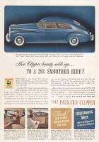 1942 Clipper Special Club Sedan - Advertisement