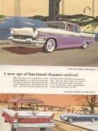 1957 Pack Clipper Town Sedan & 1957 Packard Clipper Country Sedan