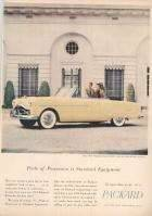 1951 Packard Convertible Advertisement
