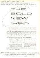 Packard-Studebaker The Bold New Idea Advertisement