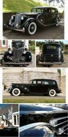 1936 Packard 1408 Limo 12 Drivers Front