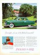 1952 PACKARD 200 SEDAN ADVERTISEMENT