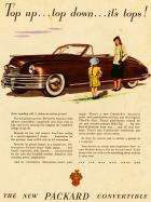 1948 PACKARD SUPER EIGHT CONV ADVERTISEMENT