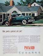 1946 PACKARD CLIPPER SEDAN ADVERTISEMENT