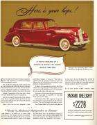 1940 PACKARD 180 SUPER EIGHT CLUB SEDAN ADVERTISEMENT