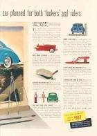 1941 PACKARD CLIPPER 4DR SEDAN ADVERT RH