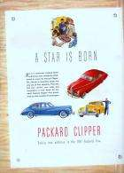 1941 PACKARD CLIPPER INTRO ADVERT