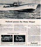 1941 PACKARD WWII ERA PT BOAT ADVERT