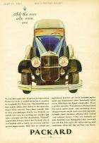 1931 PACKARD ADVERT