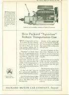 1919 PACKARD TWIN-SIX V12 ENGINE ADVERT-B&W