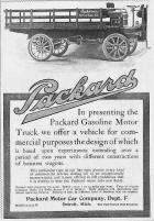 1905 PACKARD TRUCK ADVERT-B&W