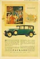 1927 PACKARD ADVERT - 'HOTEL DES GOBELINS'