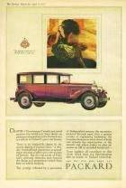 1927 PACKARD ADVERT - 'CHARM...'