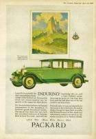 1927 PACKARD ADVERT - 'ENDURING'