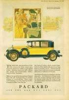1928 PACKARD ADVERT - 'CHIPPENDALE'