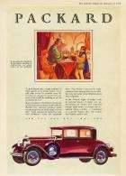 1929 PACKARD ADVERT