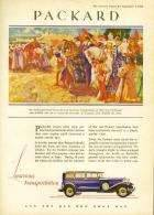 1929 PACKARD ADVERT - 'FERDINAND AND ISABELLA'