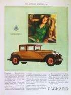 1926 PACKARD CAR ADVERT - 'COMFORT'