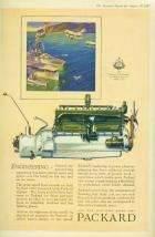 1927 PACKARD 'ENGINEERING' ADVERT