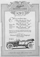 1912 PACKARD ADVERT-B&W