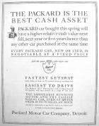 1912 PACKARD ADVERT-B&W