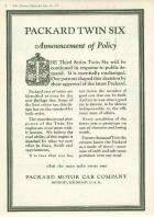 1918 PACKARD ADVERT-B&W