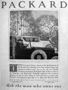 1921 PACKARD ADVERT-B&W