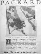 1921 PACKARD ADVERT-B&W