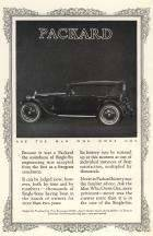 1923 PACKARD ADVERT-B&W