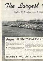 1950 PACKARD-HENNEY ADVERT-LH-B&W