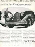 1935 PACKARD ADVERT-B&W